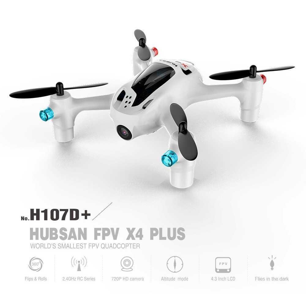 Hubsan FPV X4 Plus - H107D+