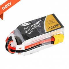 TATTU 1550mAh 14.8V 75C 4S1P Lipo Battery Pack - Specially Made for Victory with Limited Edition