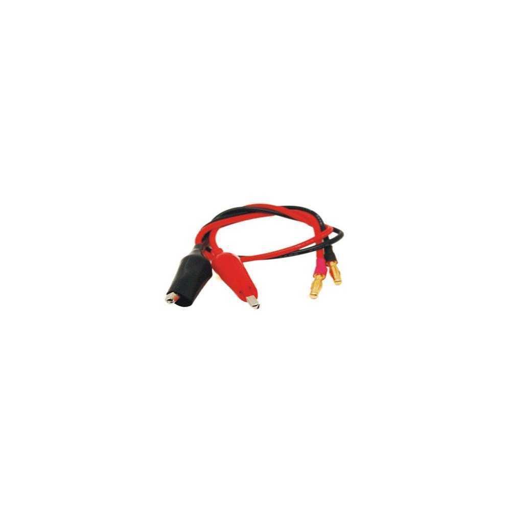 Emax - Cavo siliconico 16AWG per ricarica Batterie - 30CM - Mod. K-013