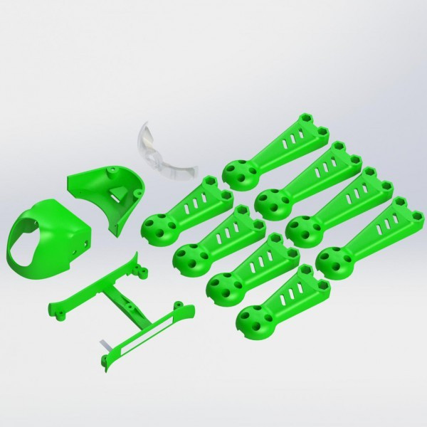 ImmersionRC - Vortex 150 Mini - Crash Kit 1 - Colore Verde