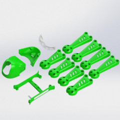ImmersionRC - Vortex 150 Mini - Crash Kit 1 - Colore Verde