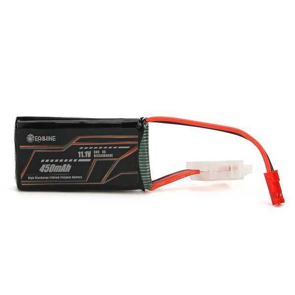 Eachine Racer 130 - Batteria LIPO 450mAh - 3S - 11.1V - 30C - Plug JST
