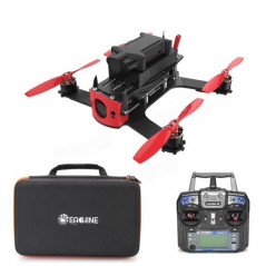 Eachine Racer 130 con NAZE32 - Cam FPV 700TVL - Action Camera HD 720p - RTF (Pronto al volo)