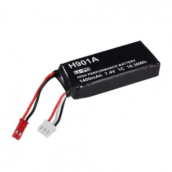 Hubsan H901A - Batteria LIPO 1400mAh 7.4V 1C 10.36Wh