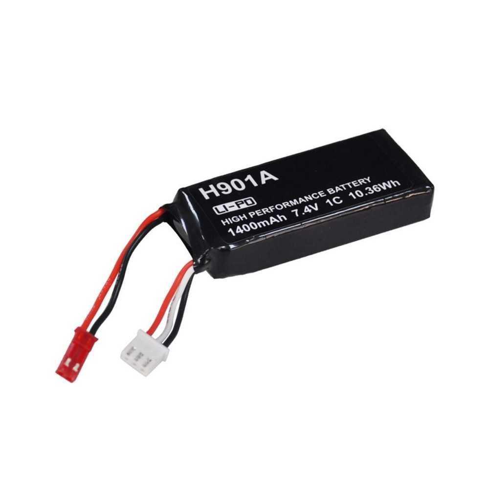 Hubsan H901A - Batteria LIPO 1300mAh 7.4V 2C 9.62Wh