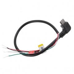Cavo FPV Micro USB AV-OUT (Angolo 90 gradi) per Action Cam SJCAM SJ4000 SJ5000 M10 o simili