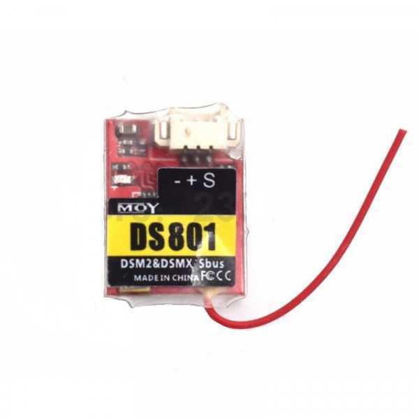 MOY DS801 Mini - Ricevitore 2.4G 8CH DSMX DSM2 Compatibile - SBUS PPM Output