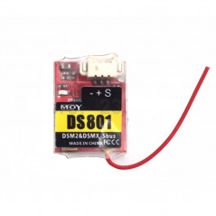 MOY DS801 Mini - Ricevitore 2.4G 8CH DSMX DSM2 Compatibile - SBUS PPM Output