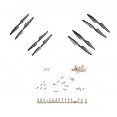 Hubsan X4 FPV Brushless H501S/H501C/H501A - Kit Value Pack - Set Eliche A + B (CW / CCW) (colore nero)