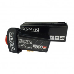 VCANZ - Batteria LIPO 1550mAh 45C 14.8V 4S XT60