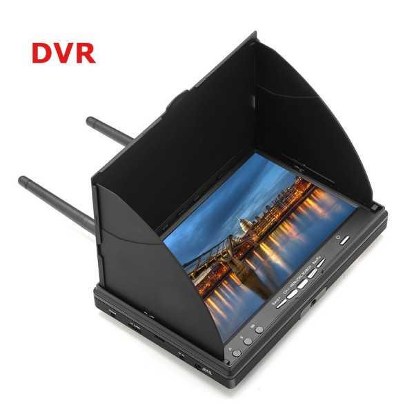 Eachine Monitor FPV - LCD5802D 5.8GHz 40CH 7 Pollici con DVR e Batteria