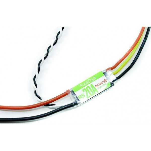 Racerstar - RS20A per Eachine Wizard X220 FPV -ESC 20A BLHeli_S Opto 2S - 4S - Supporta Dshot150 e Dshot300