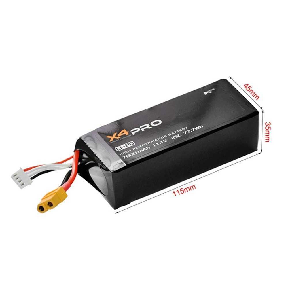 Hubsan X4 Pro H109S - Batteria Li-Po 7000mAh 11.1V 3S 25C