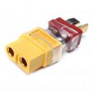 Convertitore T Plug - XT60 Maschio - Femmina (Selezionare Tipo A o B)