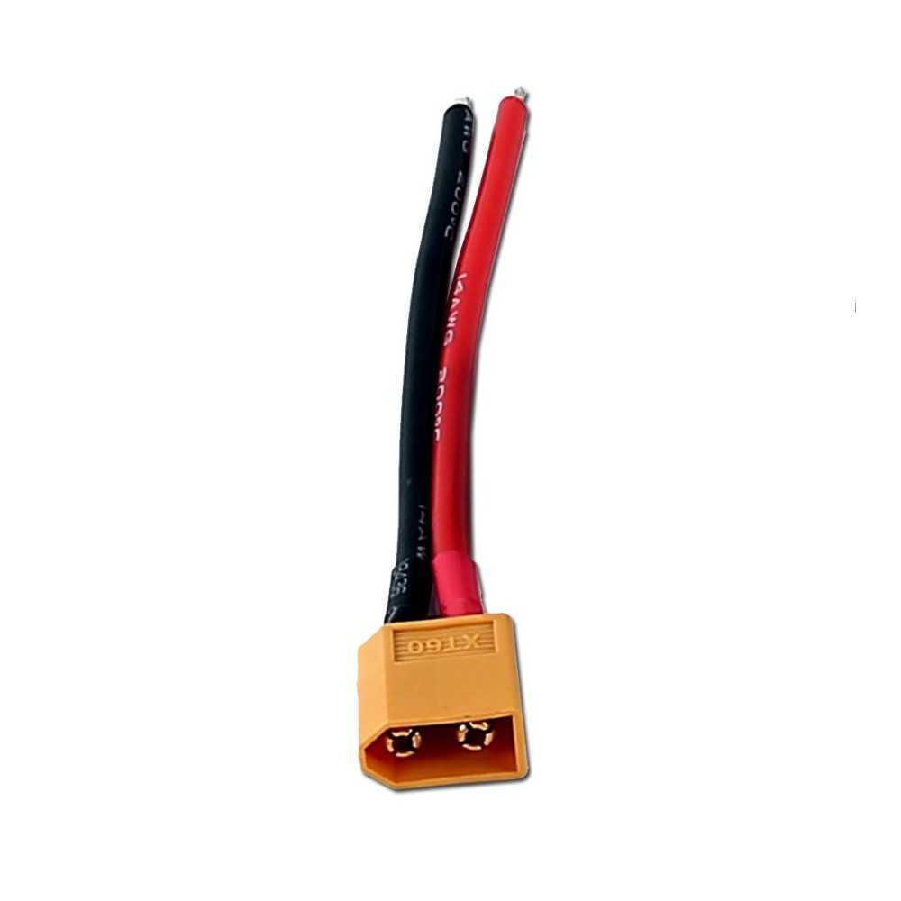 Connettore XT60 Maschio con cavo 12AWG 10cm