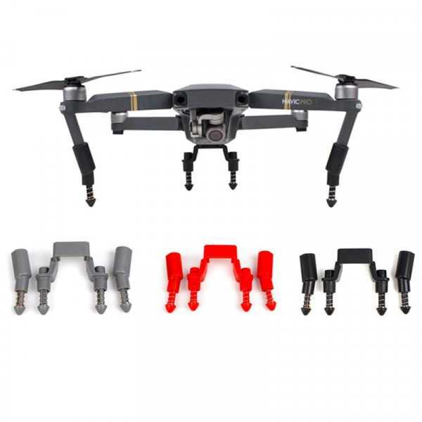 DJI Mavic Pro - Kit prolunga Landing Gear con molle ammortizzanti