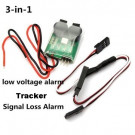 Modulo Allarme 3 in 1 - Low Voltage - Alarm Tracker - Single Loss Alarm