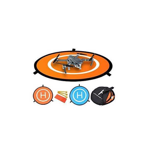 Landing Pad per Droni DJI e simili - Diam. 75cm Bicolore Impermeabile