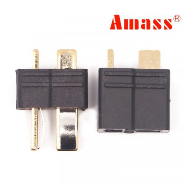 Amass - Connettore T Plug - Deans AM-1015 - Maschio/Femmina