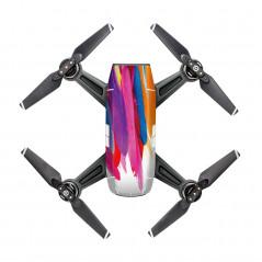 DJI Spark - Adesivo colorato Mod. D7