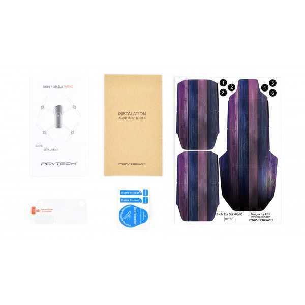 DJI Mavic Pro - Adesivo colorato 3M - Mod. W4