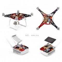 DJI Phantom 4 Pro - Adesivo colorato 3M - Mod. CA15