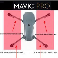DJI Mavic Pro - Motore e Frame posteriore destro (GKAS)