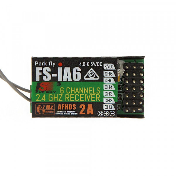 Flysky - Ricevitore FS-iA6 - AFHDS 2A - 6CH 2.4 GHz