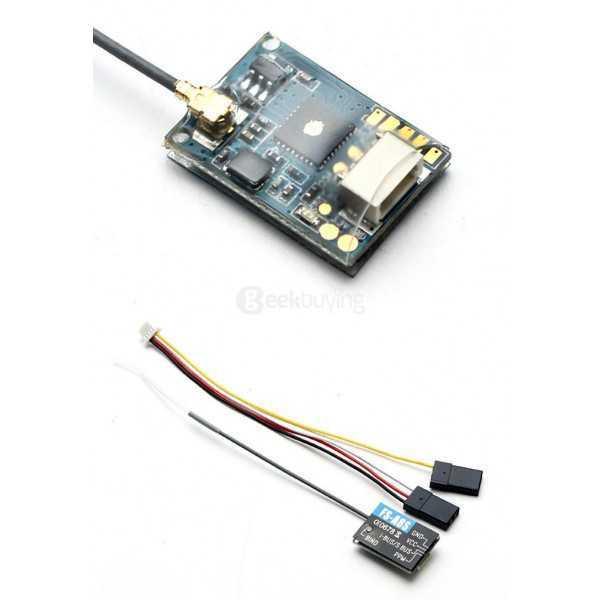 Flysky - Ricevitore FS-A8S v.2 - 8CH 2.4 GHz - PPM - i-BUS - S.BUS