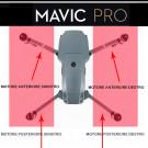 DJI Mavic Pro Platinum - Motore e Frame posteriore sinistro (GKAS)