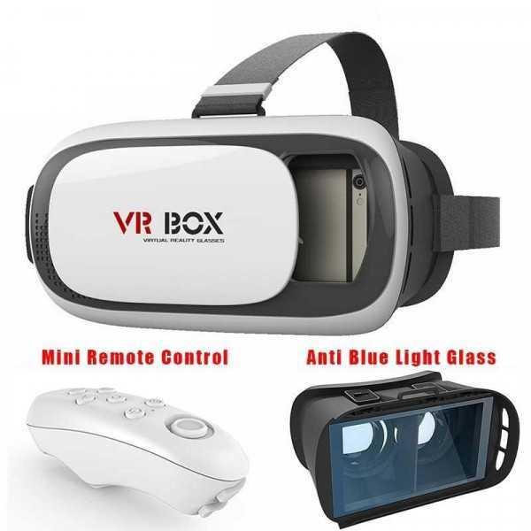 VR BOX con Controller Bluetooth (Seconda generazione)