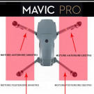 DJI Mavic Pro - Rear Left Frame Cover Landing Gear