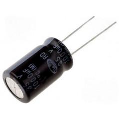 Condensatore elettrolitico 35V - 1000uF - 105°C