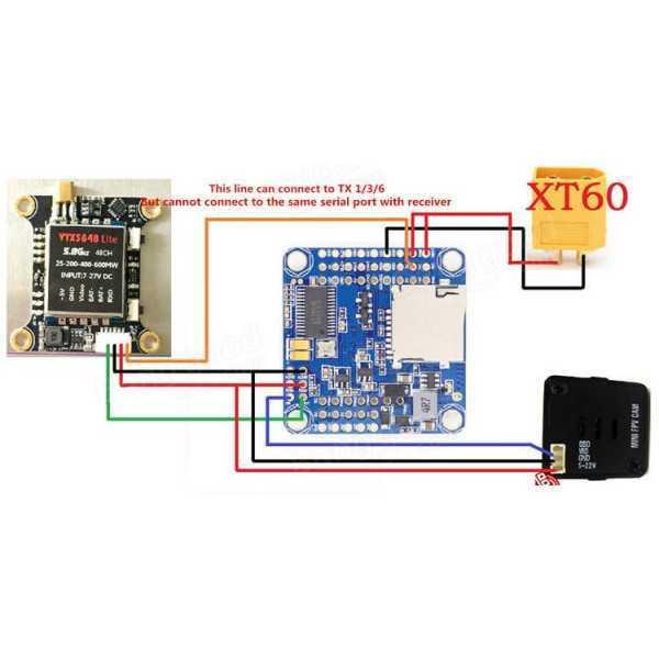 Modulo TX Video FPV VTX5848 LITE V2 - 5.8G 48CH 25/100/200/400/600mW con OSD