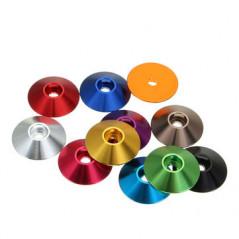 Suleve - Set M3AN10 10 Pz. Rondelle coniche in alluminio M3 - vari colori