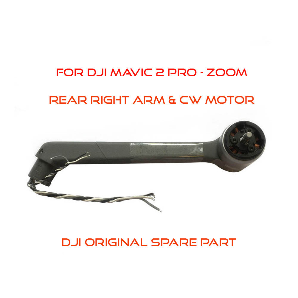 DJI Mavic 2 Pro / Zoom - Rear Right Arm & CW Motor