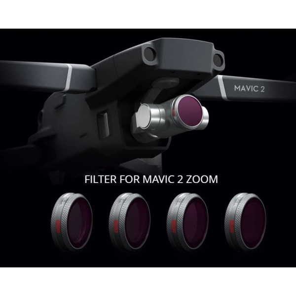 PGYTECH -  DJI Mavic 2 Zoom - Filter ND-PL SET Professional