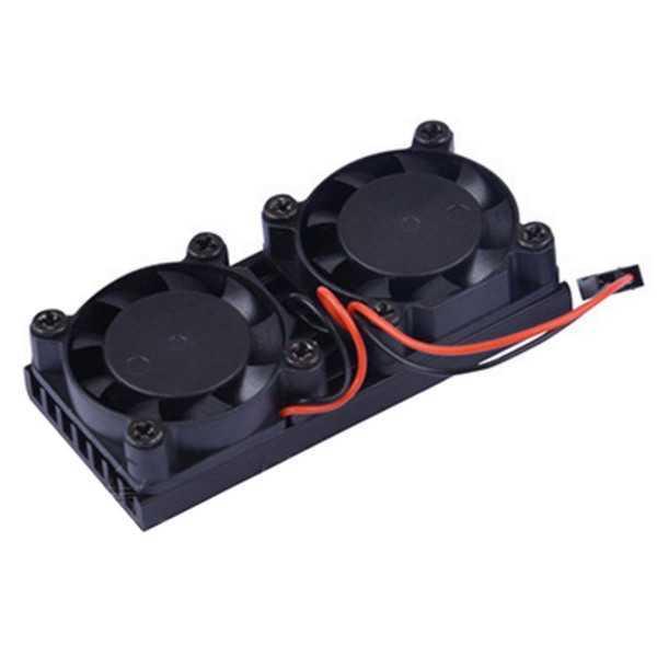 Cooling Fan Kit per Rapsberry Pi 3B+/3B/2B/B+
