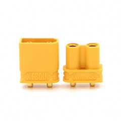 Amass - Set connettori XT30 Maschio - Femmina per PCB