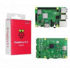 Rapsberry Pi 3 Modello B+ Cortex-A53 (ARMv8) CPU 1,4 GHz LAN WLAN Dual Band 1GB RAM