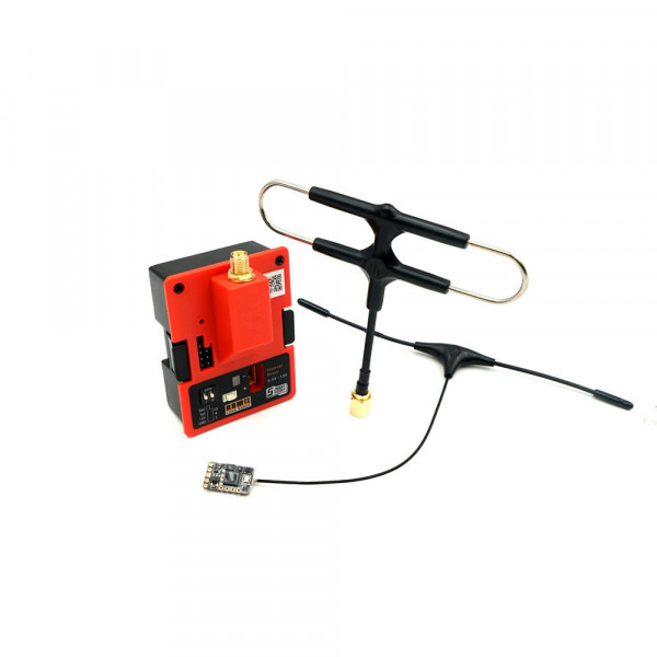 FrSky - Kit Modulo TX R9M 900MHz Long Range e R9 Mini RX con Antenne Super 8