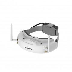 Eachine EV200D Goggles FPV HD con DVR 5.8G 72CH True Diversity Set B - Bianco