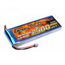 Gens ace 2500mAh 7.4V 25C 2S1P Lipo Battery Pack