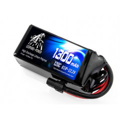 Leopard Power - Batteria 120C 22.2V 6S1P - 1300mAh - XT60
