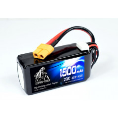 Leopard Power - Batteria 200C 14.8V 4S1P LiPo - 1500mAh - XT60