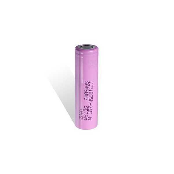 Batteria Samsung 18650-26F - 2600mAh - 3.7 Volt