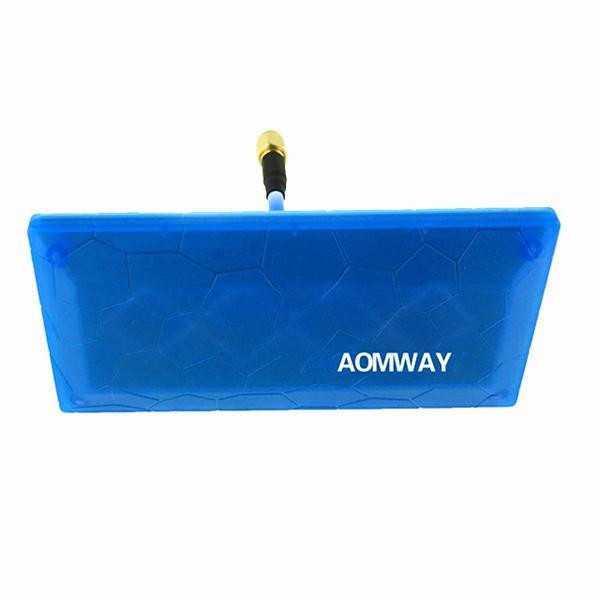 Aomway - Diamond Antenna Direzionale 5.8G 13dBi SMA Maschio - Colore Blu