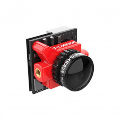 Foxeer - Falkor 2 Micro 1200 TVL G-WDR OSD 1.8 mm NTSC/PAL 4:3/16:9 FPV Camera - Colore Rosso