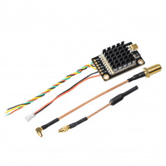 Eachine - VTX FPV TX805S 5.8G 40CH 25/500/1000/1600mW LED Display dissipatore microfono OSD Pitmode Smart Audio - RP-SMA Femmina