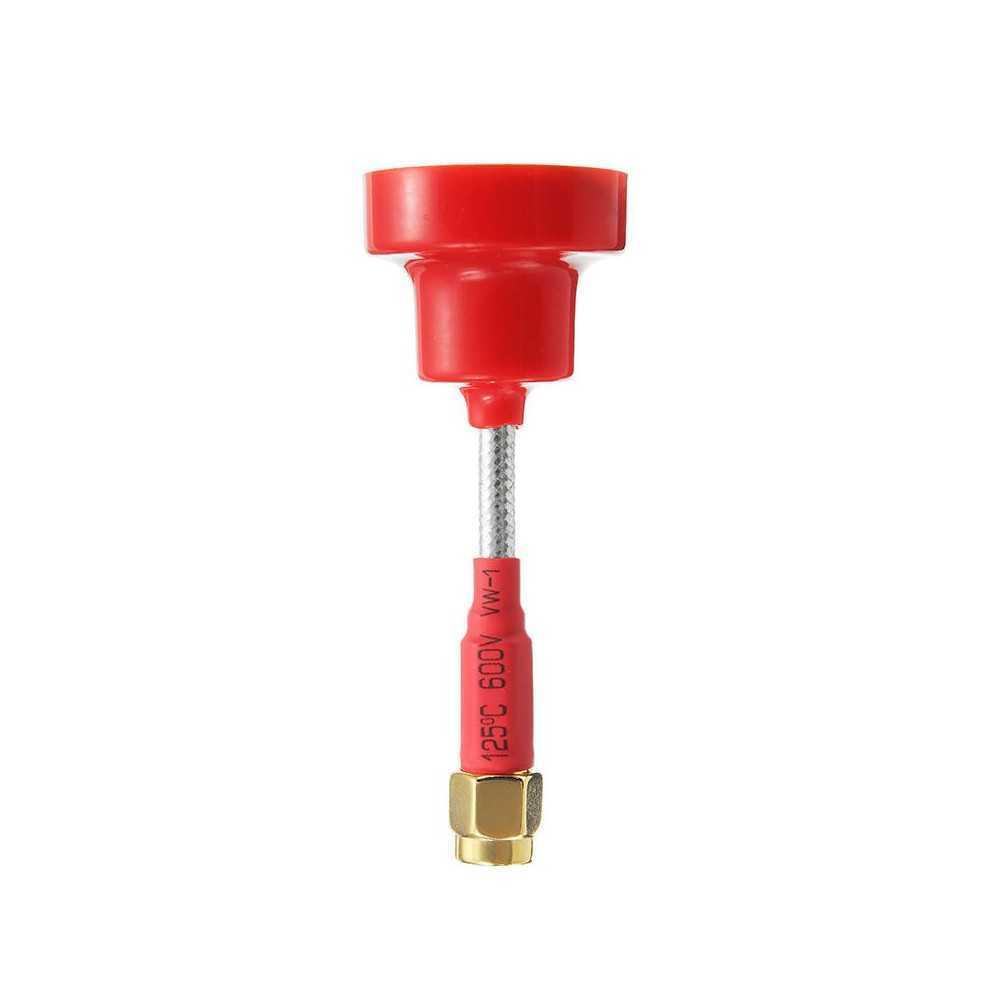 Realacc - Antenna FPV Pagoda Omni Direzionale SMA RHCP - 5dBi - 5.8G - 65mm - Colore Rosso
